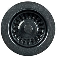 Houzer 1909568 - Granite Black Disposal Flange
