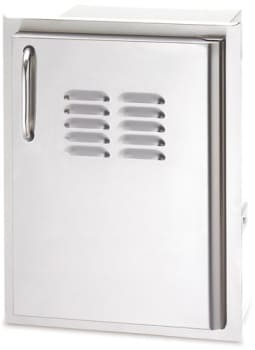 American Outdoor Grill 2014SSDRV - Single Access Door with Tank Tray and Louvers