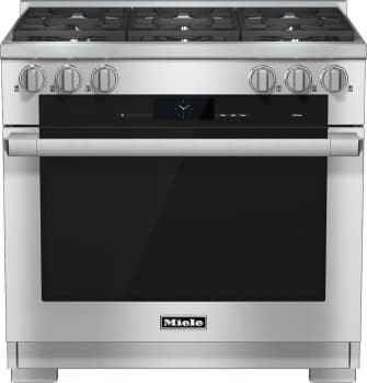 "Miele M-Touch Series HR1934DF - 36"" Dual-Fuel Range"