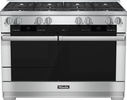 "Miele M-Touch Series HR1954DFX - 48"" Dual-Fuel Range"