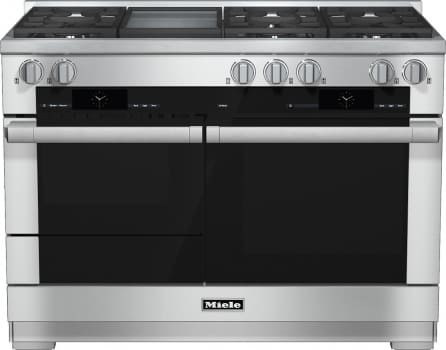 "Miele M-Touch Series HR1956DFGD - 48"" Dual-Fuel Range with Griddle"