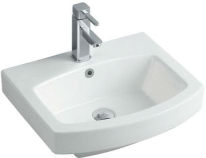 "Empire Industries Royale Collection R21W1 - 20"" White Ceramic Sink for Arch Collection Vanities and Mirrors"