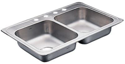 Moen Commercial 22129 - Stainless Steel