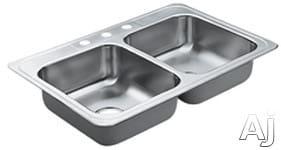 Moen Excalibur 22826X - 3 Faucet Holes