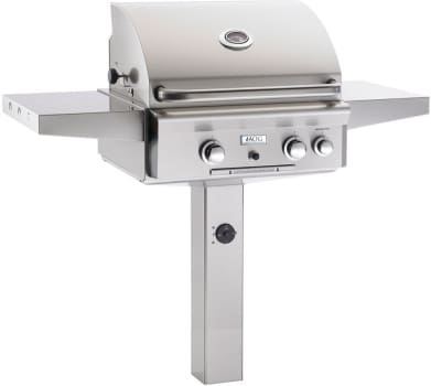"American Outdoor Grill 24NG - 24"" In-Ground Post Mount Grill"