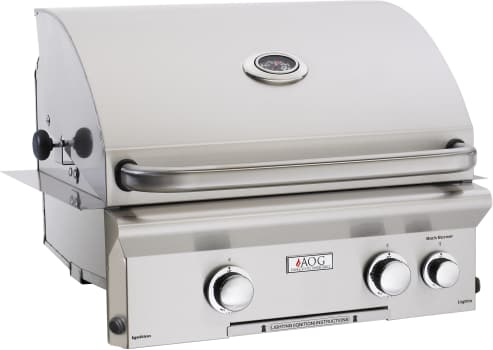 "American Outdoor Grill 24NBL00SP - 24"" L Series Grill with Electronic Push Button Ignition System"