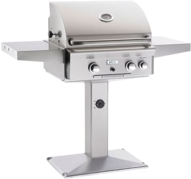 "American Outdoor Grill 24NP01SP - 24"" Post Mount Gas Grill"