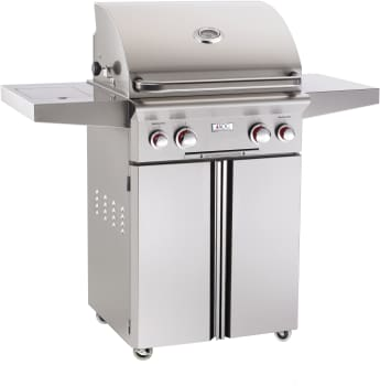 "American Outdoor Grill 24PCT - 24"" T Series Grill with Push-to-Light Piezo Ignition System"
