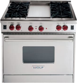 Wolf R364GLP - Classic Stainless Steel