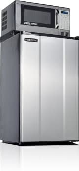 MicroFridge 36MF4A7D1S - 3.6 cu. ft. Compact Refrigerator with 700 Watt Microwave (Stainless Steel)