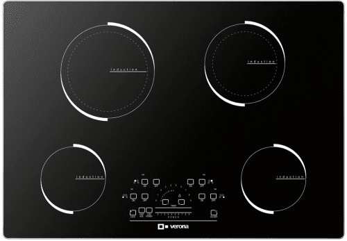 Verona VECTIM304 - VECTIM304 Black Glass Induction Cooktop