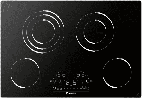 Verona VECTEM304 - VECTEM304 Black Glass Cooktop