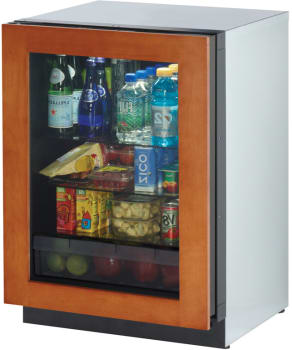 "U Line Modular 3000 Series 3024RGLOL01 - 24"" Compact Refrigerator"