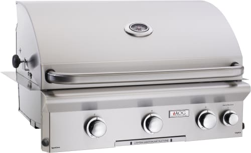 "American Outdoor Grill 30NBL00SP - 30"" L Series Grill with Electronic Push Button Ignition System"
