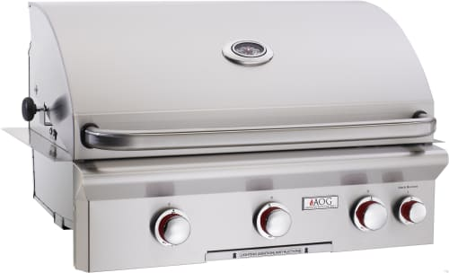 "American Outdoor Grill 30NBT - 30"" T Series Grill with Push-to-Light Piezo Ignition System"