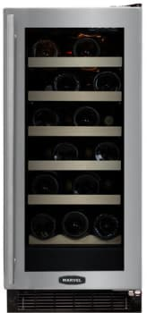 "Marvel Luxury Series 30WCMBSGR - 15"" Wine Cellar"