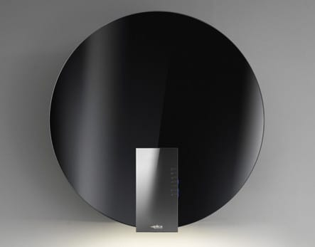Elica Collection Space Series ESP630WT - Black Glass with Stainless Steel