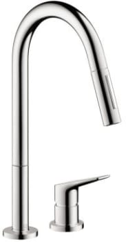 Hansgrohe Axor Citterio M Series 34822001 - Chrome Front View