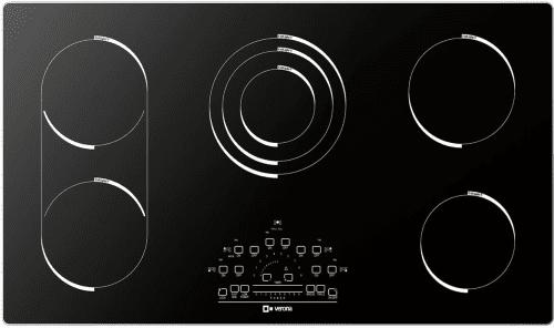 Verona VECTEM365 - VECTEM365 Black Glass Cooktop