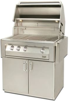 "Vintage VBQ36GC - 36"" Grill Cart - Grill Sold Separately"