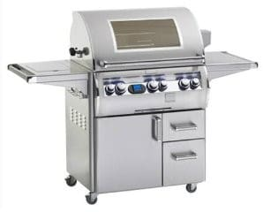 "Fire Magic Echelon Collection E790S4L1N62W - 73"" Freestanding Gas Grill"