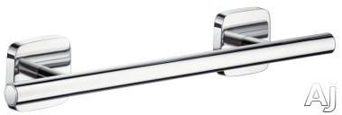 "Hansgrohe PuraVida Series 41513000 - Hansgrohe PuraVida 12"" Towel Bar"