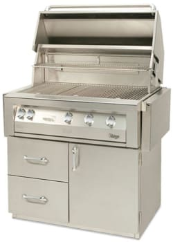 "Vintage VBQ42GCDLX - 42"" Deluxe Grill Cart - Grill Sold Separately"