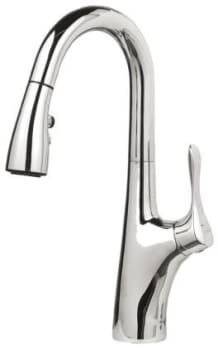 Blanco Napa 44175960 - Feature View of Chrome (also available in Stainless Steel finish!)