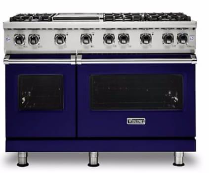 Viking Professional 5 Series VGR5488BCB - Cobalt Blue