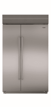 Sub-Zero BI48S - Classic Stainless Steel with Professional Handle