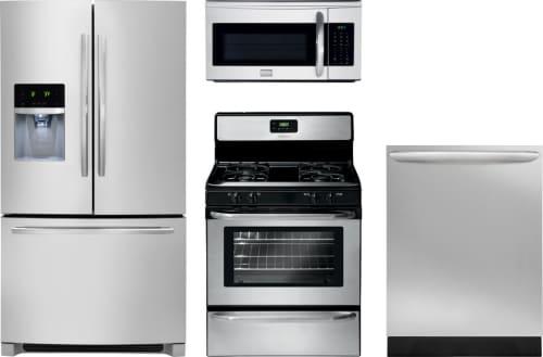 Frigidaire FRRERADWMW502 Frigidaire 4 Piece Kitchen Appliances ...