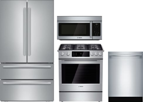 bosch boreradwmw19 bosch 4 piece kitchen appliances package with