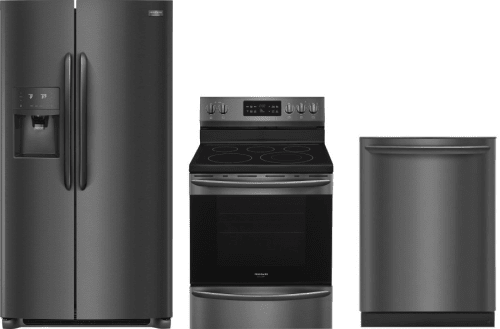 Frigidaire FRRERADW35 3 Piece Kitchen Appliances Package with Side ...
