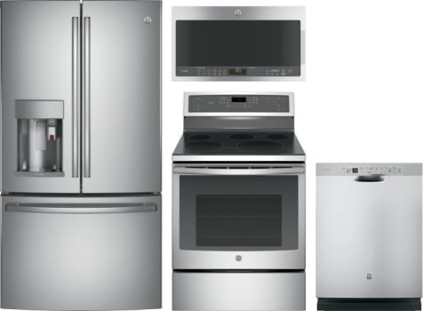 ge stainless steel kitchen appliance packages range dishwasher ge profile gereradwmw9218 package piece kitchen appliances with french