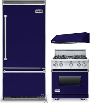 Viking VIRERARH28 3 Piece Kitchen Appliances Package with ...