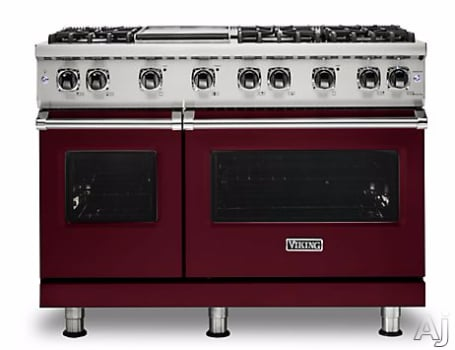 Viking Professional 5 Series VGR5486GBULP - Burgandy