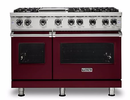 Viking Professional 5 Series VGR5488BBU - Burgandy