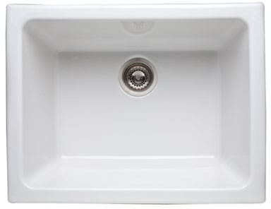Rohl Allia 634768 - White Model Shown (Strainer Not Included)