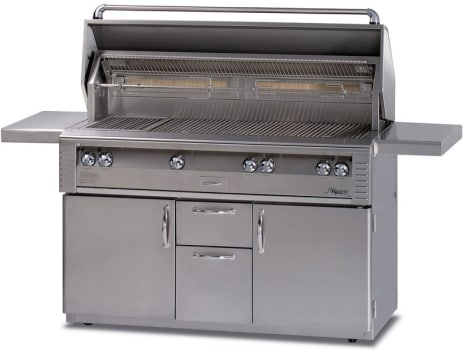 "Alfresco LX2 ALX256BFGRLP - 56"" Jumbo Grill with Refrigerated Base"