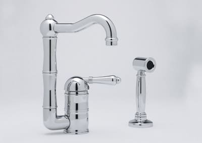 Rohl Country Collection A360865LPWSAPC2 - Polished Chrome (Metal Lever Shown)