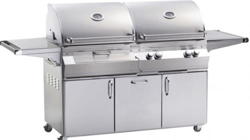 Fire Magic Aurora Collection A830I2E1PCB - Gas/Charcoal Combo Grill
