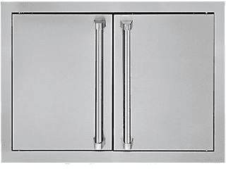 "Viking Outdoor Series AD52820SS - 28"" Stainless Steel Double Access Doors"