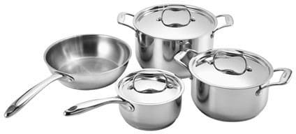 Dacor ADCW7S - 7-Piece Stainless Steel Signature Gourmet Cookware