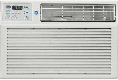 Ge Aem08fm 8 000 Btu Air Conditioner With 200 Cfms 24 Hour On Off Timer 10 8 Energy Efficiency Ratio And Energy Star Qualified