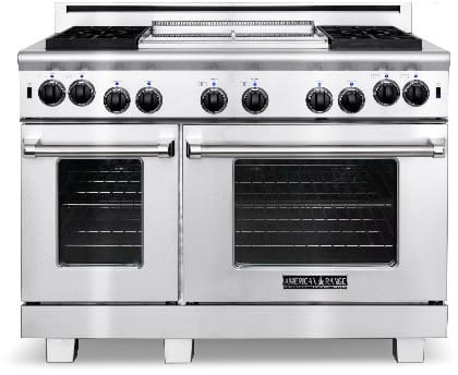 American Range Heritage Classic Series ARR486GDL - Stainless Steel