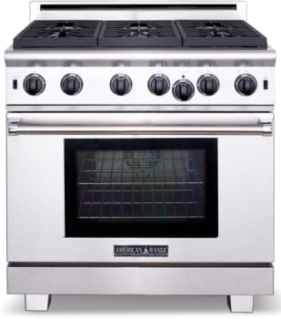 American Range Cuisine Series ARR436GRL - Stainless Steel