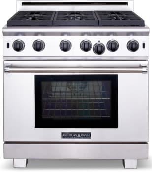 American Range Cuisine Series ARR436GD - Stainless Steel
