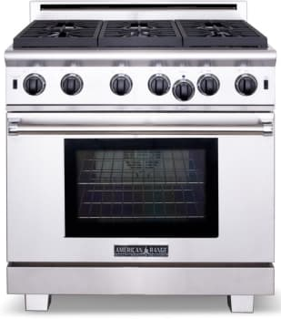 American Range Performer Series ARROB436GDL - Stainless Steel