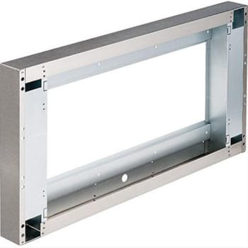 "Best AWWPD348SB - 3"" Wall Extension for 48"" Width: Front"