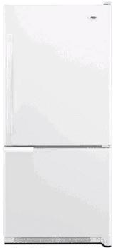 Amana ABB1921WEW - 18.5 cu. ft. Bottom-Freezer Refrigerator
